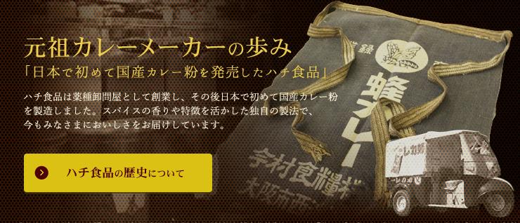 元祖カレーメーカーの歩み「日本で初めて国産カレー粉を発売したハチ食品」